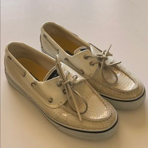 Sperry loafers sequin